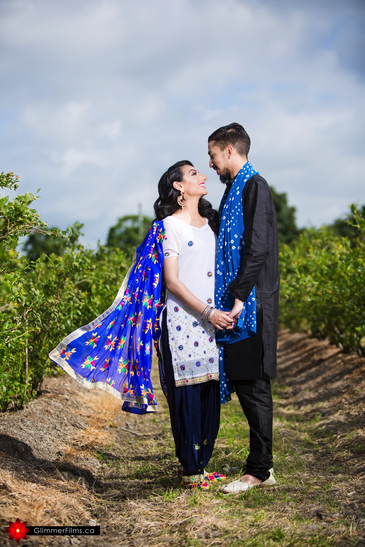 A Clients' Pre-Wedding Photo Shoot on the Farm